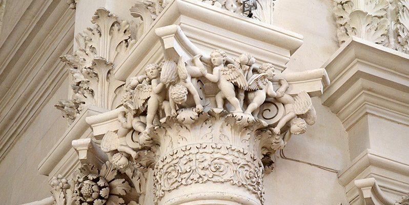 Particolare Barocco a Lecce - Salento