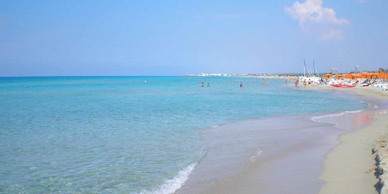 spiaggia di torre mozza - Salento