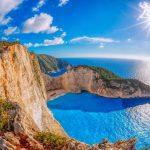Viaggi di Maturità A Zante - Immagine di Navagio - Spiaggia del relitto -1
