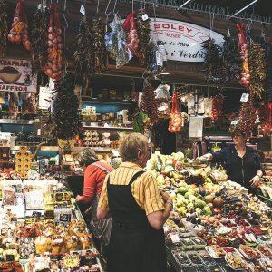 un Mercato di Barcellona meta della Gita Scolastica