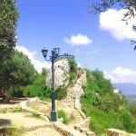 Il trono del Re a Pelekas - Tappa del Viaggio di Maturità a Corfù