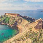 veduta di spiagge a Malta viaggi di maturità 2019