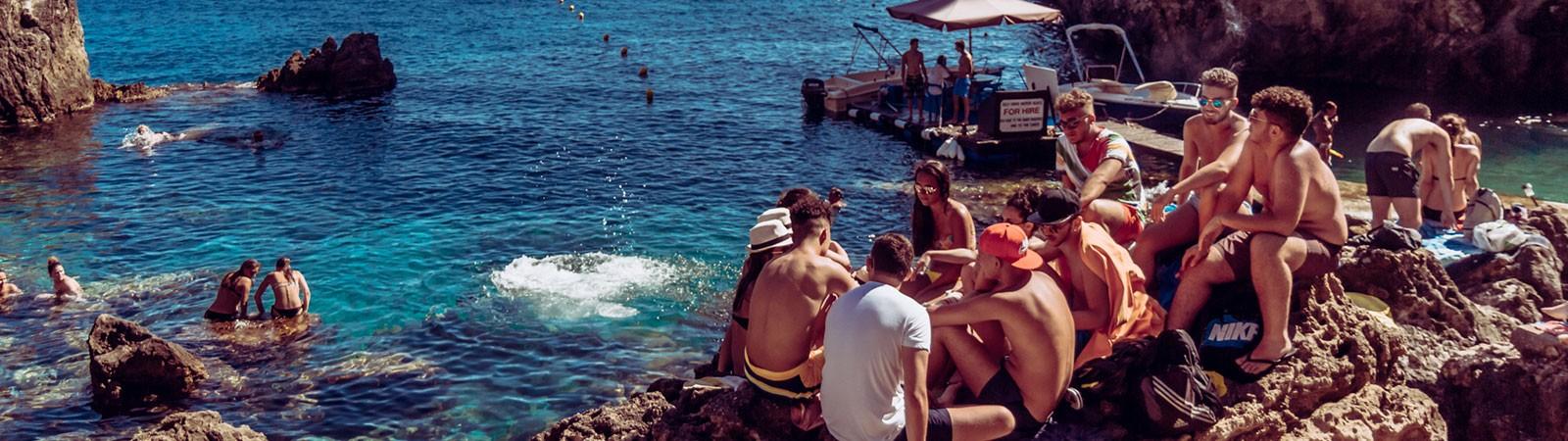 Gli alloggi del Viaggio di Maturità a Corfù