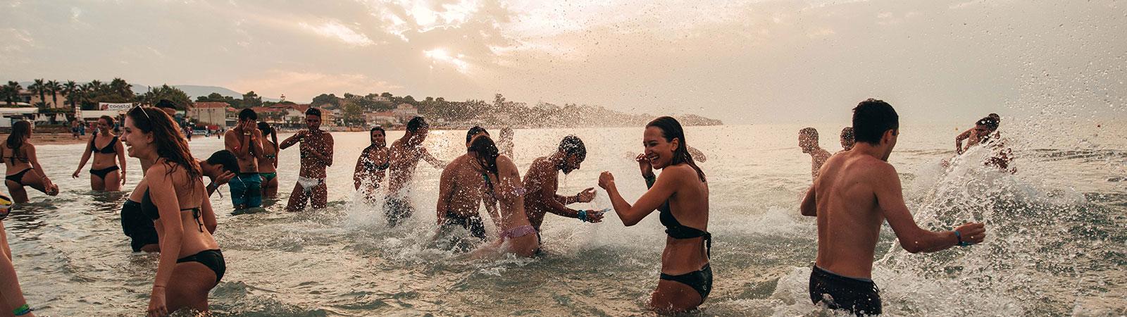 Beach Party nei Viaggi Evento a Zante
