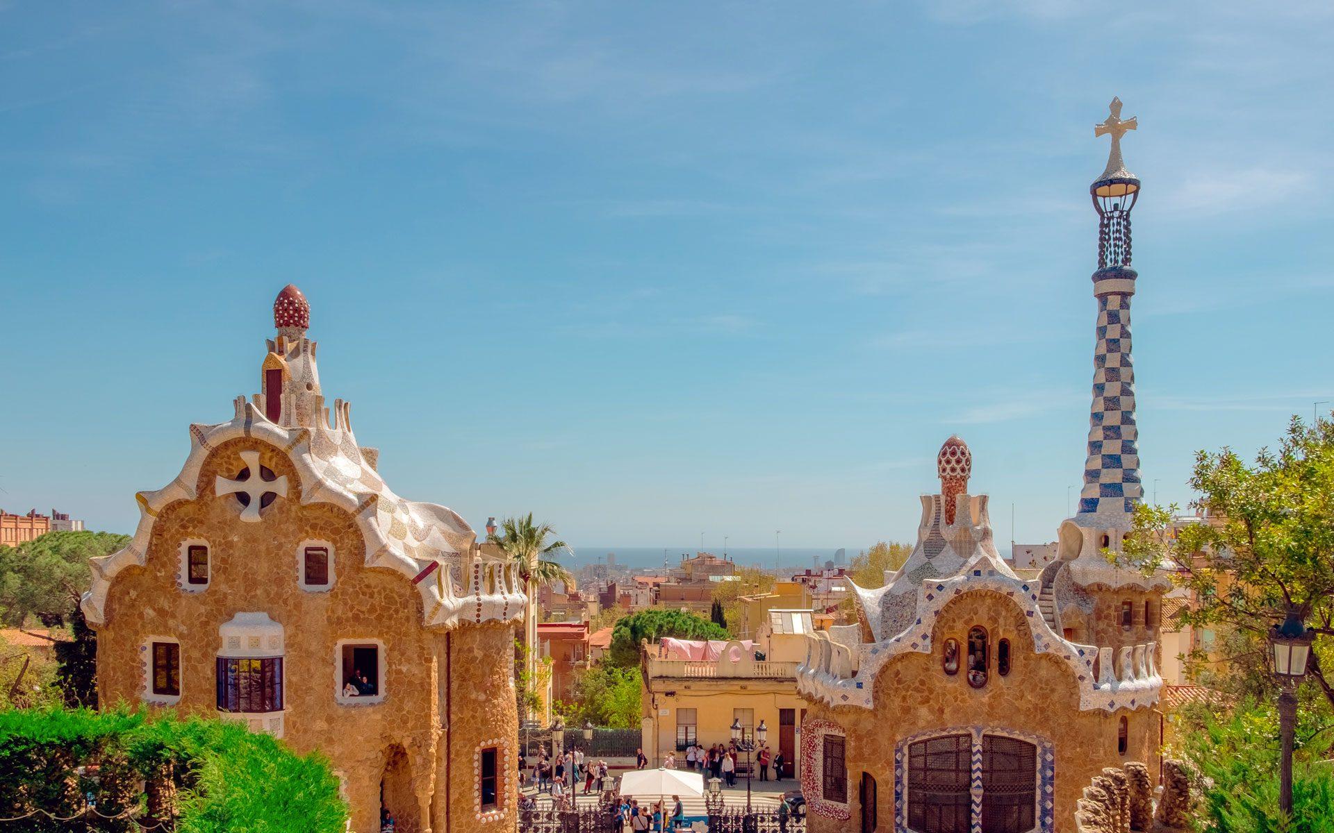 Parc guell - tappa della gita scolastica a Barcellona