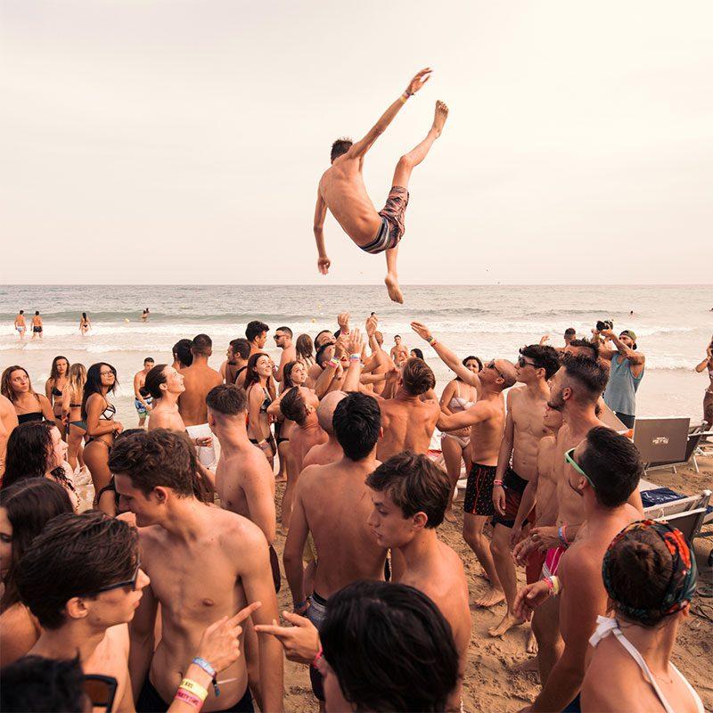 Immagine di Festa nel Viaggio di maturità a Gallipoli