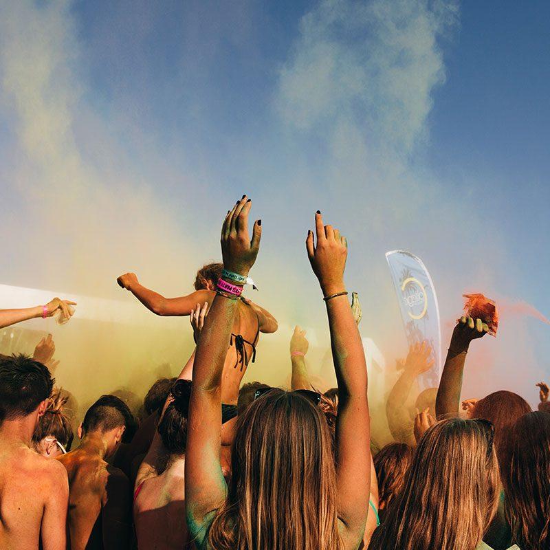 Beach Party durante un Viaggio di Maturità - Salento