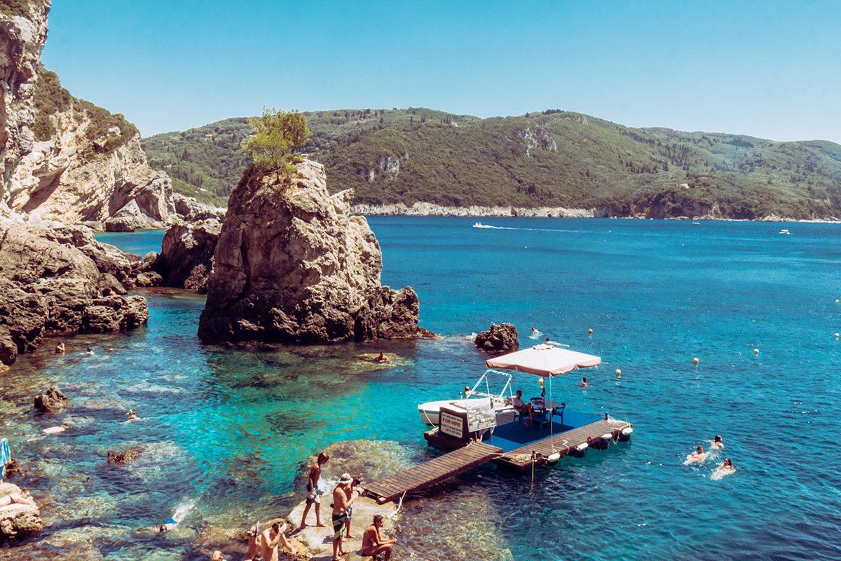 Corfù, la migliore delle Isole greche Consigliate per il Viaggio di Maturità