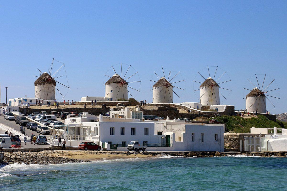 Mykonos - al 3 posto delle Isole greche Consigliate per il Viaggio di Maturità